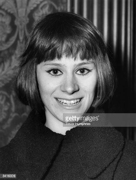 English actress Rita Tushingham at the Academy Theatre in London during the premiere of the Russian film version of