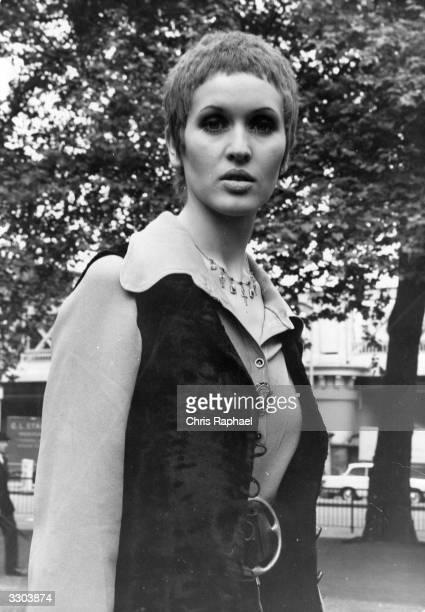 British pop singer Julie Driscoll or 'Jools' as she calls herself