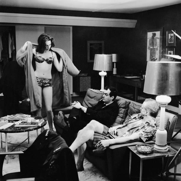 Kubrick On Set