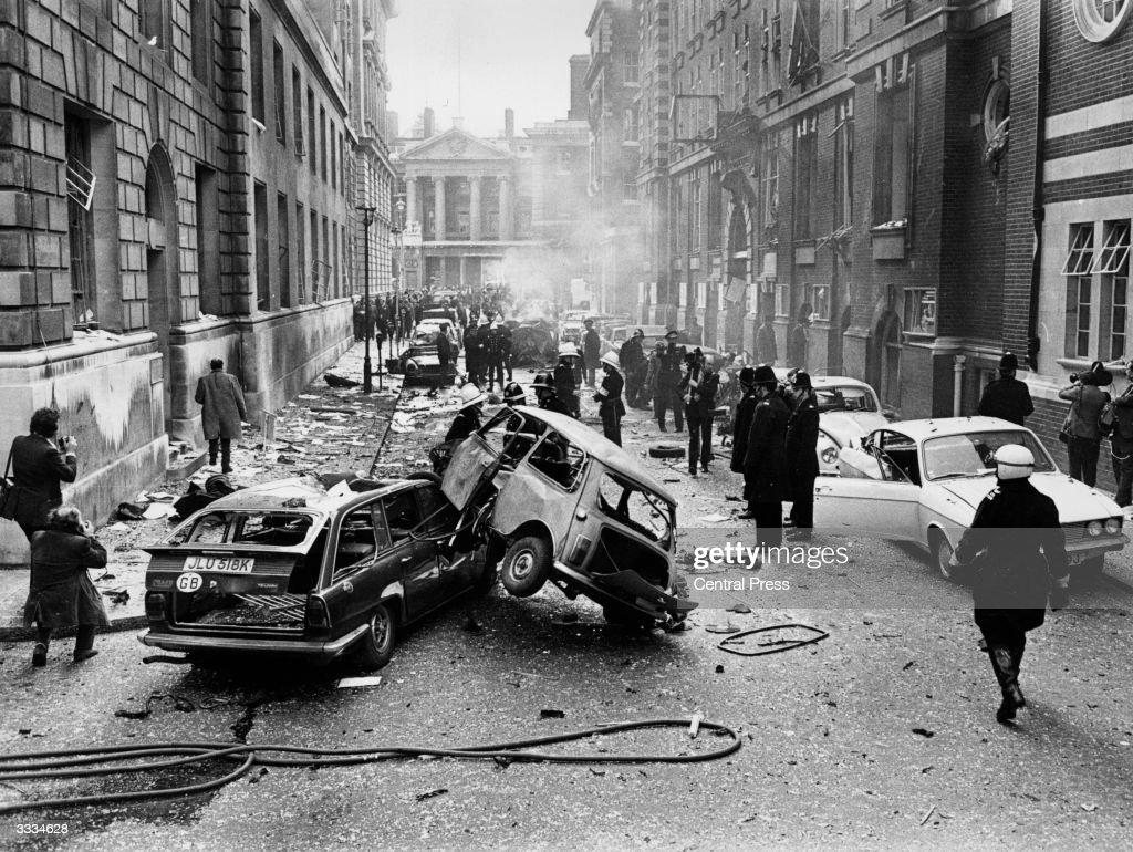 Bomb Destruction : News Photo