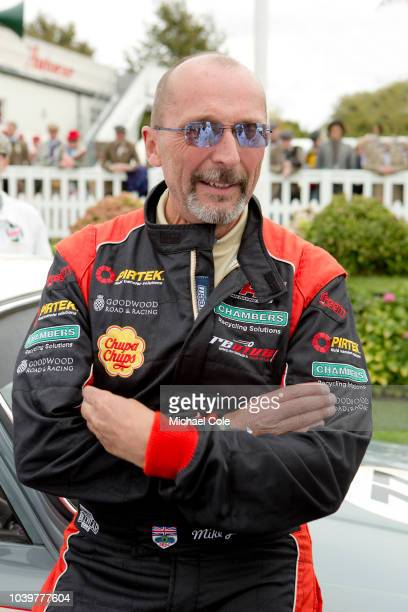 Mike Jordan at the 20th anniversary of the Goodwood Revival at Goodwood on September 8th 2018 in Chichester England 'n