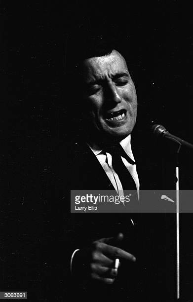 American singer Tony Bennett born Anthony Benedetto in New York City