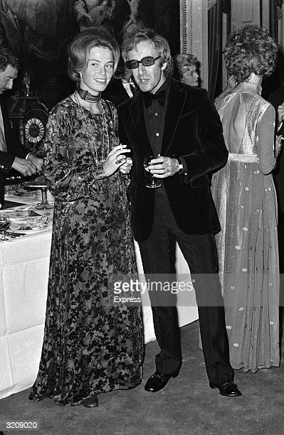 Peter Sellers and Miranda Quarry hosting a fashion show charity event at Marlborough House in aid of the Commonwealth Society For the Deaf The...