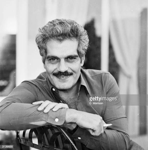 Egyptian actor Omar Sharif born Michel Shahoub in Alexandria