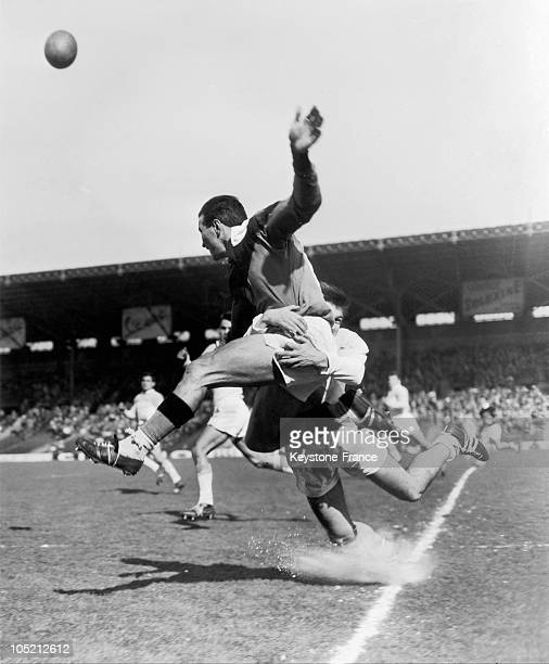 8Th Rugby Final BayonneMazamet Of Championships Of France 1958 In France In Colombes