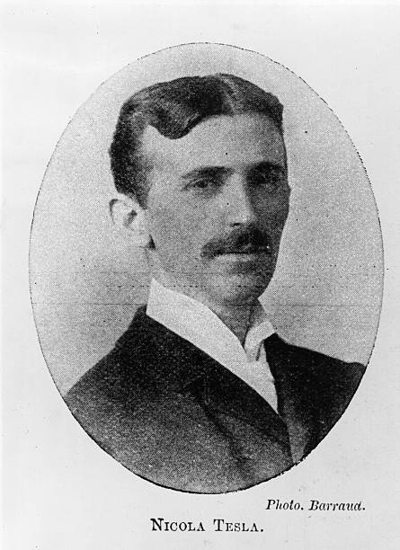 Nikola Tesla the Yugoslavian-American inventor, physicist...