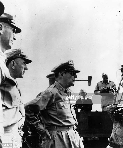 American soldier General Douglas MacArthur
