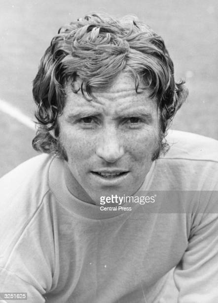 Football player and later manager Alan Ball in his Everton FC days