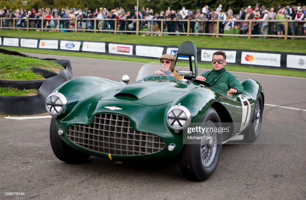 Vintage Aston Martin Db Racing Car During The Track Parade At The News Photo Getty Images