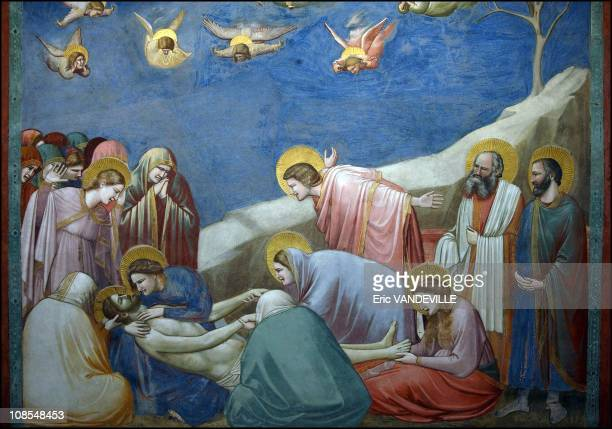 900m2 of paintings representing the life of Jesus Mary and the Last Judgment finished in 1305 this is the Giotto's masterpiece inauguration on March...