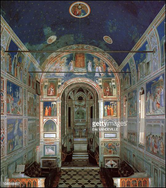 900m2 of paintings representing the life of Jesus Mary and the Last Judgment finished in 1305 this is the Giotto's master peace inauguration on March...