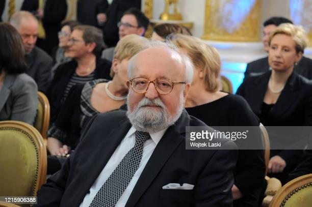 90th birthaday anniversary of Wladyslaw Bartoszewski at the Royal Castle in Warsaw