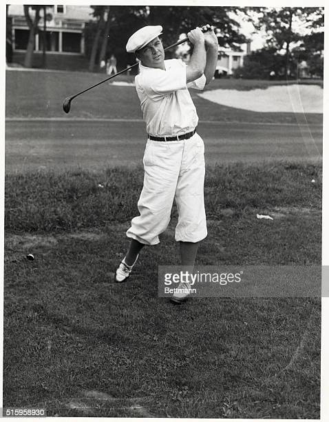 Brookline, MA- Jess Sweetser of the United States is seen here at the Brookline Country Club, Brookline MA, as he played the morning round in the...