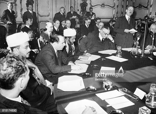9/12/1946London England Attended by Representatives of 7 countries of the Arab League The Palestine Conference is opened by Prime Minister Clement...