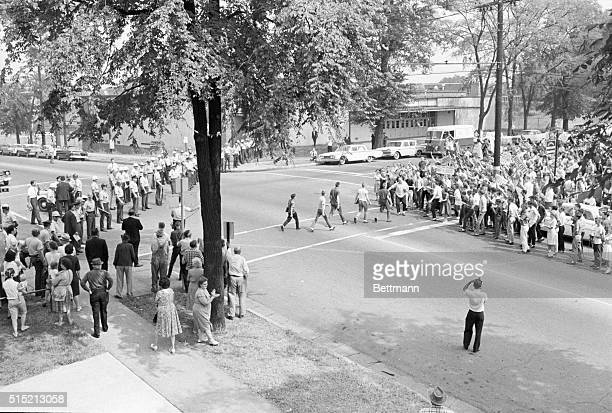 9/12/1963BirminghamAL High school students styed out of integrated West end High and other Birmingham schools as students from nonintegrated Phillips...