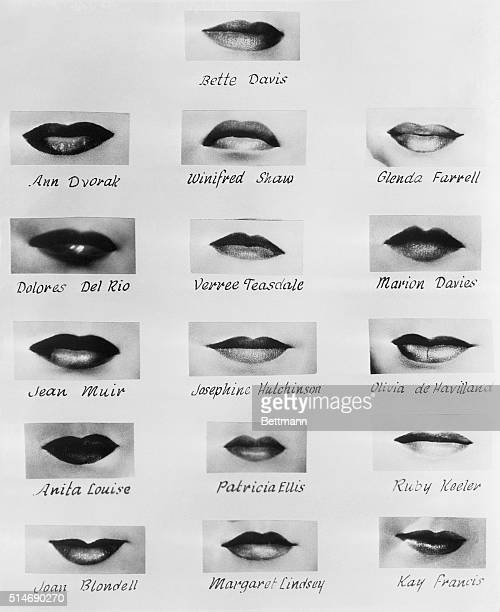 9/1/35Hollywood California Lips reveal character says Warner Bros lipreader Have lips the ability to reveal character They have according to Perc...