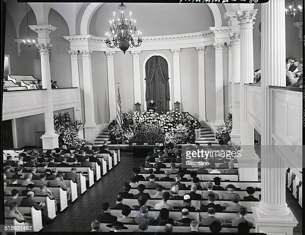 9/15/1949Washington DC High government officials and members of the United States Supreme Court were present during the funeral services in the...