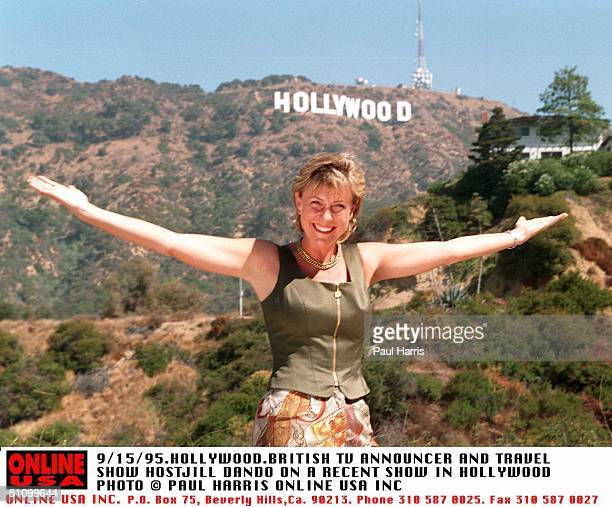 HollywoodJill Dando British Tv Presenter And Host For Holiday Show On Bbc