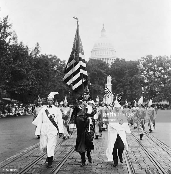 9/17/1926Washington DC Ku Klux Klan parade in Washington Photograph Sept 17 1926