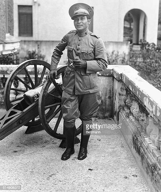 9/1933Rumor is ripe in Havana that Colonel Fulgencio Batista who is commanding the Cuban Army will become the dictator of Cuba This photo showing the...