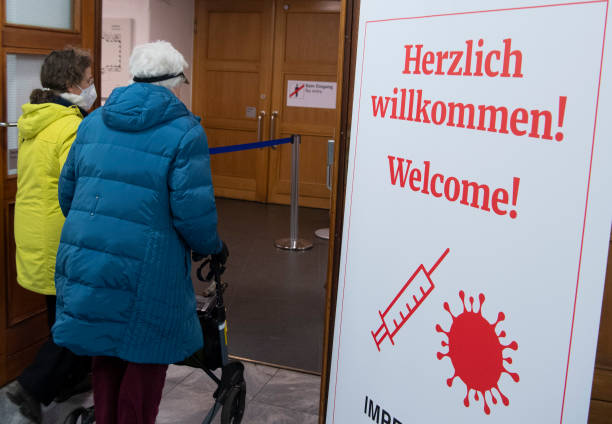 DEU: Hesse State Opens Its Vaccine Centers