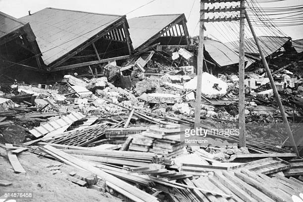 9/20/1923Tokyo Japan Scene of awsome destruction in Tokyo after Earthquake
