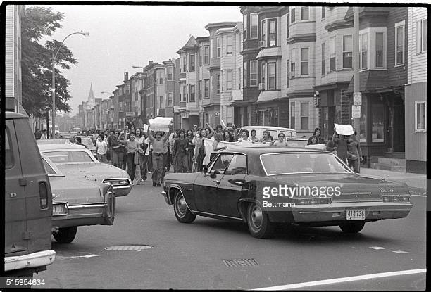 9/20/1974Boston MA A series of disturbances involving parents and youths seeking support for thier antibusing postion broke out in East Boston which...