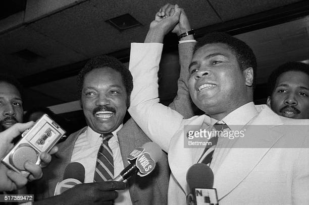 9/20/1984New York NY Boxing great Muhammad Ali hospitalized because of Parkinson's syndrome but 'looking pretty' declared 9/20 that he's still 'the...