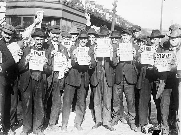 UNS: 22nd September 1919 - American Steelworkers Strike Begins