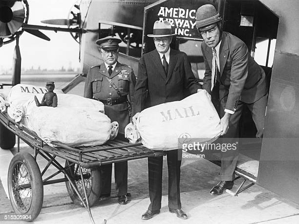 9/23/1931Los Angeles CA Commemorating the 20th Anniversary of the first official air mail dispatched in the United States a huge trimotored transport...