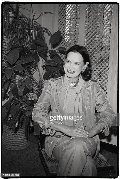 New York, NY: Gloria Vanderbilt, born to wealth, is a workhorse although if she chose she could be one of the idle rich. At age 55, her latest...