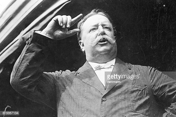 9/24/1908Evansville WI William Howard Taft is shown speaking at Evansville Wisconsin Sept 24 1908 Photograph