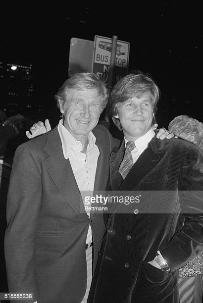 9/29/1978New York NY Actor Jeff Bridges shares some of the spotlight with his father actor Lloyd Bridges following the benefit preview of Jeff's new...