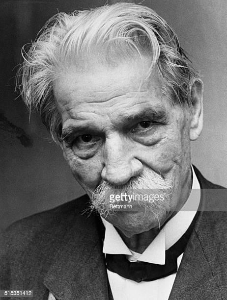 Copenhagen, Denmark- Dr. Albert Schweitzer, famed jungle physician and Nobel Prize winner, arrives in Copenhagen to receive another award. Dr....