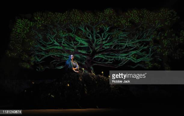 Marta FontanalsSimmons as Hel in The Royal Opera's production of Francesca Simon and Gavin Higgins's The Monstrous Child directed by Timothy Sheader...