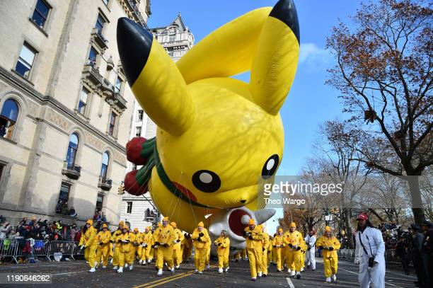 93rd Annual Macy's Thanksgiving Day Parade on November 28 2019 in New York City