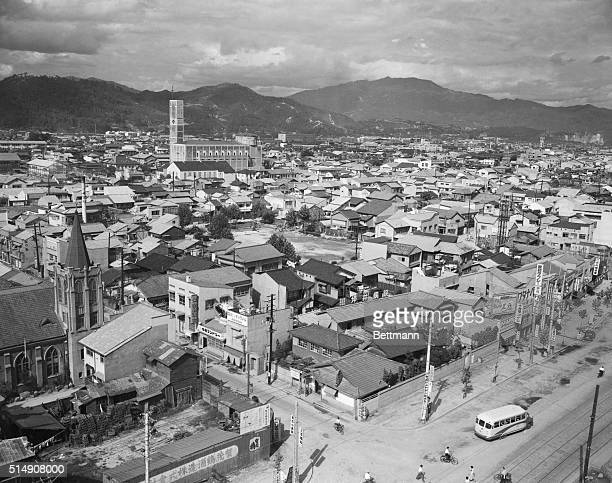 9/6/1954Hiroshima JapanDevastated by the first atomic bomb nine years ago Hiroshima is still in the midst of reconstructing its wartorn buildings By...
