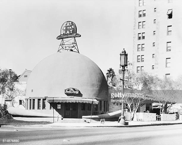9/6/1955Hollywood CA Brown Derby Restaurant