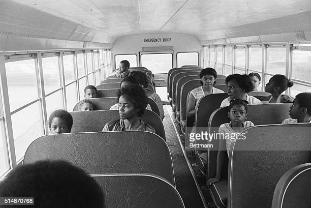 9/6/1979Garfield Heights Ohio Students and their parents are set to ride the bus from the eastside Cranwood School to their new assignments at...