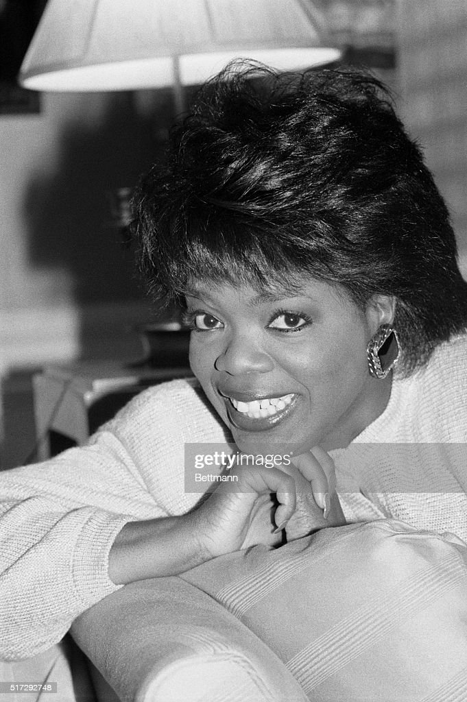 Oprah Winfrey (shown 8/21), whose talk show knocked the socks off Phil Donahue in Chicago and Tom Snyder in New York, will debut nationwide this month. Her interviews are peppy, probing, revealing, earthy and best of all she is funny. UPI eh/Ezio Peteresen