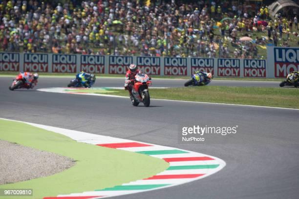 99Jorge LORENZO Ducati TeamDucati during Race MotoGP at the Mugello International Cuircuit for the sixth round of MotoGP World Championship Gran...