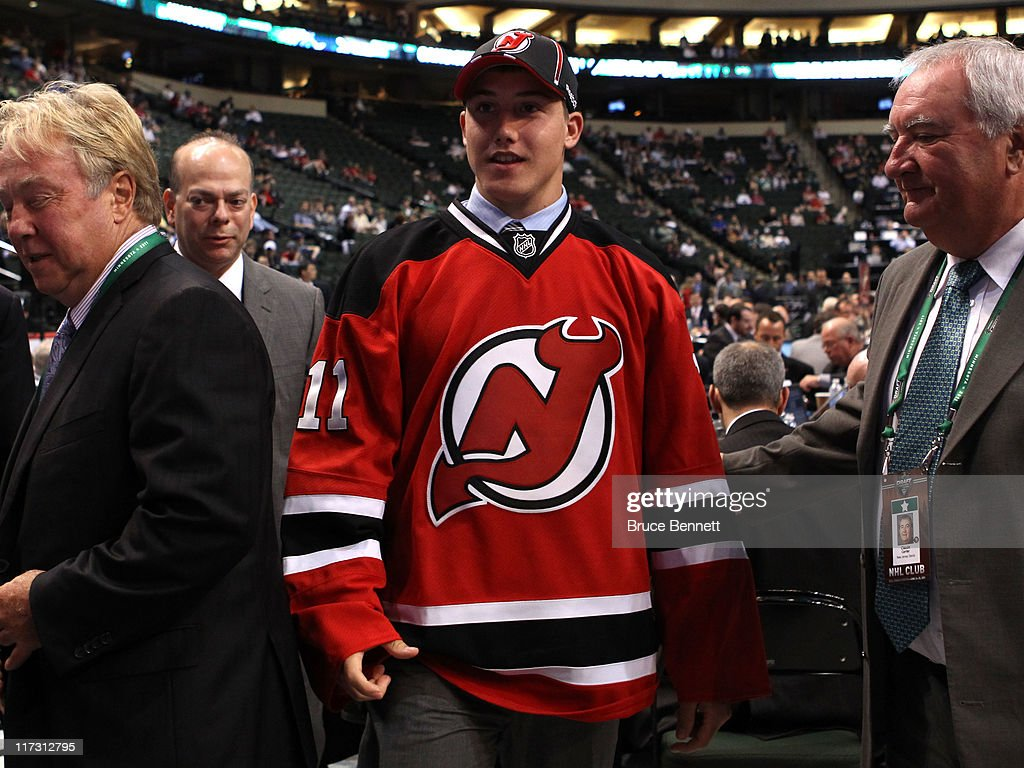 99th pick overall Reid Boucher by the New Jersey Devils looks on during day two of the 2011 NHL Entry Draft at Xcel Energy Center on June 25, 2011 in St Paul, Minnesota.