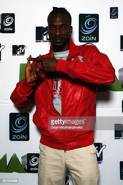 9ice poses backstage at the MTV Africa Music Awards 2008 at the Abuja Velodrome on November 22 2008 in Abuja Nigeria
