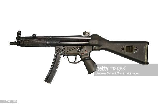 9mm submachine gun. - machine gun stock pictures, royalty-free photos & images