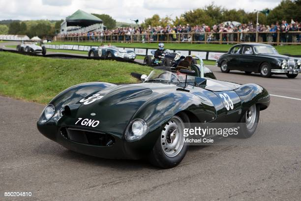 1956 Tojeiro Jaguar during the Ecurie Ecosse Parade at Goodwood on September 9th 2017 in Chichester England