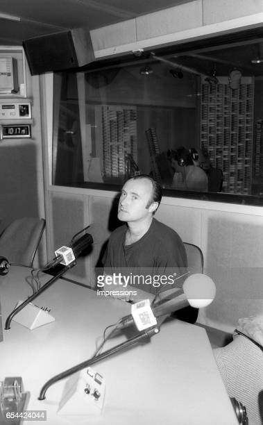 MELBOURNE AUSTRALIA – FEBRUARY 9th 1989 Phil Collins during interview at radio Station 3AW Philip David Charles Phil Collins LVO is an English singer...