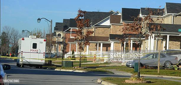 NOV 9th 2010pics of home invasion where the wife was shot and killed on Helen ave in Markham the husband was shot an is stable in hospital and the...