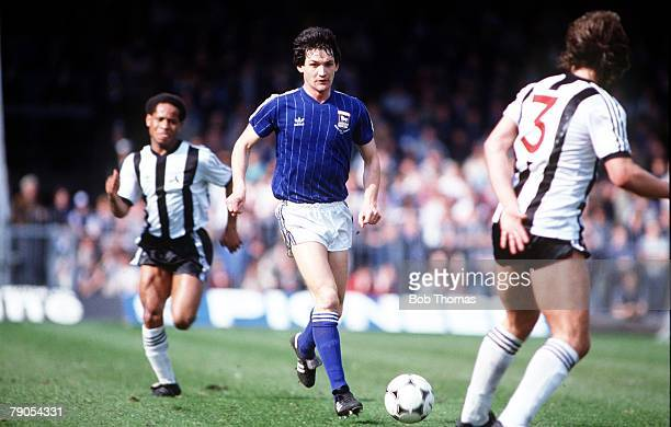 9th April 1983, Division One, Ipswich Town 0 v Notts County 0, George Burley of Ipswich Town in action