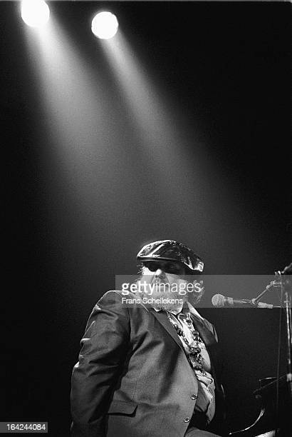 9th APRIL: American singer and pianist Dr. John performs at the Paradiso in Amsterdam, Netherlands on 9th April 1988.