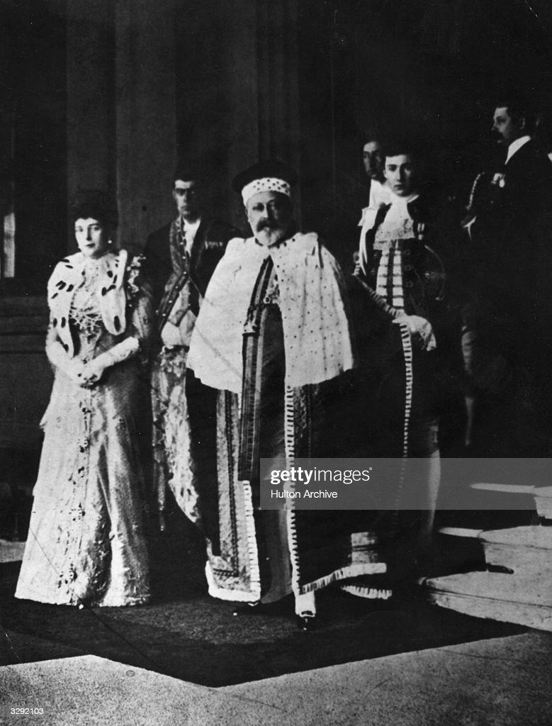 Edward VII : News Photo